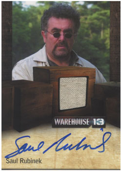 2012 Rittenhouse Warehouse 13 Season 3 Trading Cards 6
