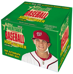 2012 Topps Heritage High Number Baseball Box Set