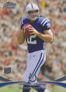 2012 Topps Prime Football Andrew Luck RC Retail 216x300 Image