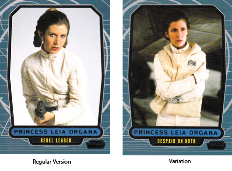 2012 Topps Star Wars Galactic Files Variations Guide 3