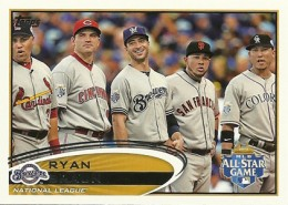 2012 Topps Update Series Baseball Variations and Short Prints Guide 21