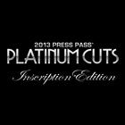 2013 Press Pass Platinum Cuts Inscription Edition Trading Cards