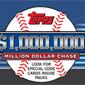 2013 Topps Baseball Million Dollar Chase Details and Guide