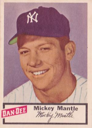 1954 Dan-Dee Baseball Cards 1