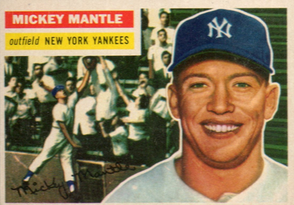 Mickey Mantle Topps Cards - 1952 to 1969 3