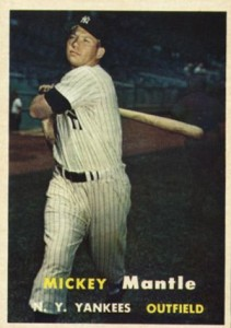 Mickey Mantle Topps Cards - 1952 to 1969 4
