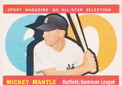 Mickey Mantle Topps Cards - 1952 to 1969 14