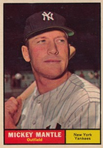 Mickey Mantle Topps Cards - 1952 to 1969 15
