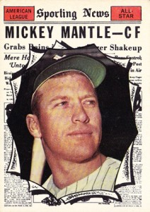 Mickey Mantle Topps Cards - 1952 to 1969 20