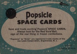1963 Topps Astronauts Trading Cards 2