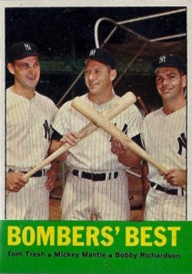 Mickey Mantle Topps Cards - 1952 to 1969 28