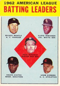 Mickey Mantle Topps Cards - 1952 to 1969 27