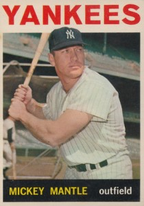 Mickey Mantle Topps Cards - 1952 to 1969 29