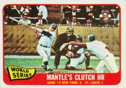 Mickey Mantle Topps Cards - 1952 to 1969 34