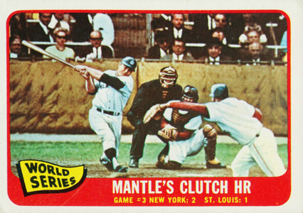 Comprehensive Guide to 1960s Mickey Mantle Cards 143