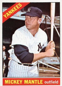 Mickey Mantle Topps Cards - 1952 to 1969 35