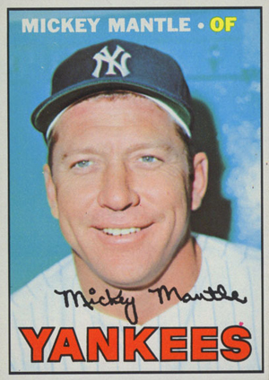1967 Topps Mickey Mantle 150