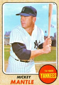 Mickey Mantle Topps Cards - 1952 to 1969 38