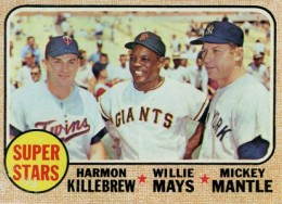 Mickey Mantle Topps Cards - 1952 to 1969 39