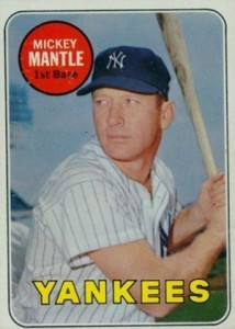 Mickey Mantle Topps Cards - 1952 to 1969 40