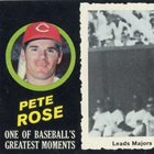 1971 Topps Greatest Moments Baseball Cards