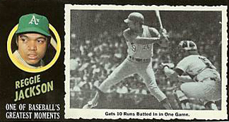 1971 Topps Greatest Moments Baseball Cards 21