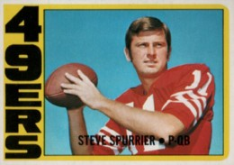 1972 Topps Steve Spurrier RC
