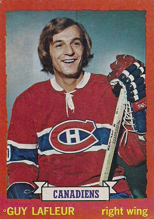 1973-74 Topps Hockey Guy Lafleur