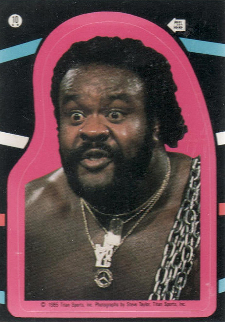 1985 Topps WWF Pro Wrestling Stars Wrestling Cards 25