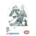 1986-87 Kraft Drawings Hockey Cards
