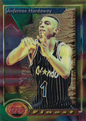 1993-94 Topps Finest Basketball Cards 21