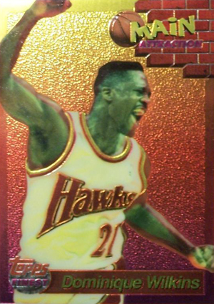 1993-94 Topps Finest Basketball Main Attraction