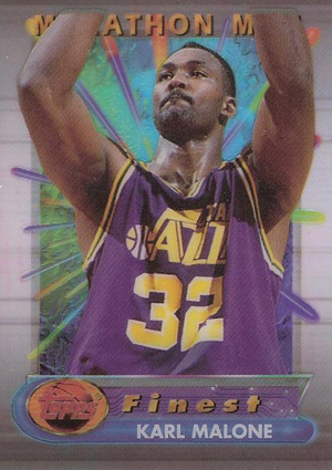 1994-95 Topps Finest Basketball Cards 25