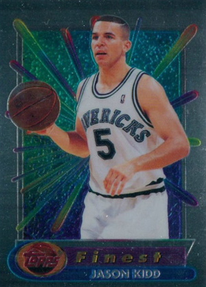 1994-95 Topps Finest Basketball Jason Kidd RC