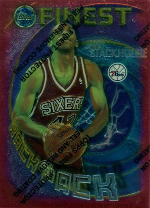 1995-96 Topps Finest Basketball Cards 23