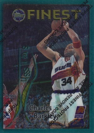 1995-96 Topps Finest Basketball Cards 22