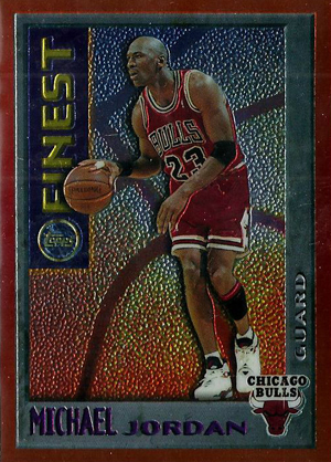 1995-96 Topps Finest Basketball Cards 24