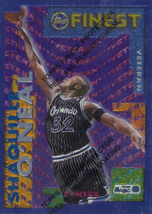 1995-96 Topps Finest Basketball Cards 26