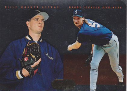 1995 Bowman's Best Baseball Mirror Image