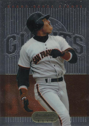 1995 Bowman's Best Baseball Red Barry Bonds