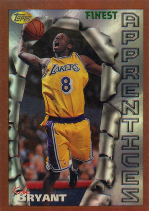 1996-97 Topps Finest Basketball Kobe Bryant RC
