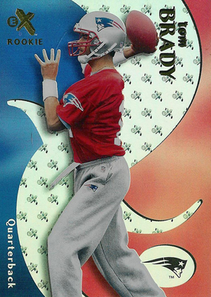 Top Tom Brady Rookie Cards 6