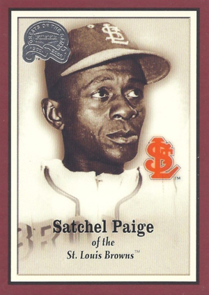 2000 Fleer Greats of the Game Baseball Satchel Paige