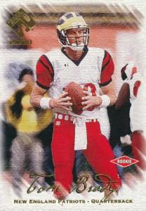 2000 Pacific Private Stock Tom Brady RC