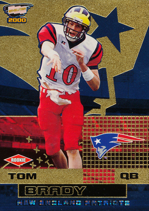 Top Tom Brady Rookie Cards 12