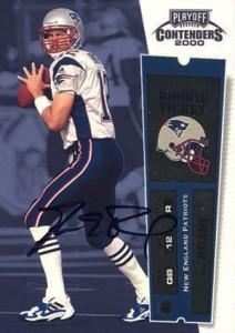 2000 Playoff Contenders Tom Brady RC