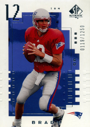 Top Tom Brady Rookie Cards 14