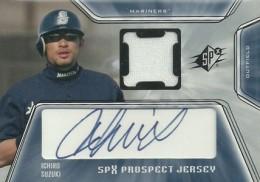 2001 SPx Baseball Ichiro Suzuki RC