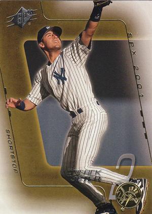 2001 SPx Baseball Derek Jeter