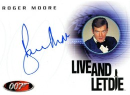 Top 10 James Bond Autographed Trading Cards 5
